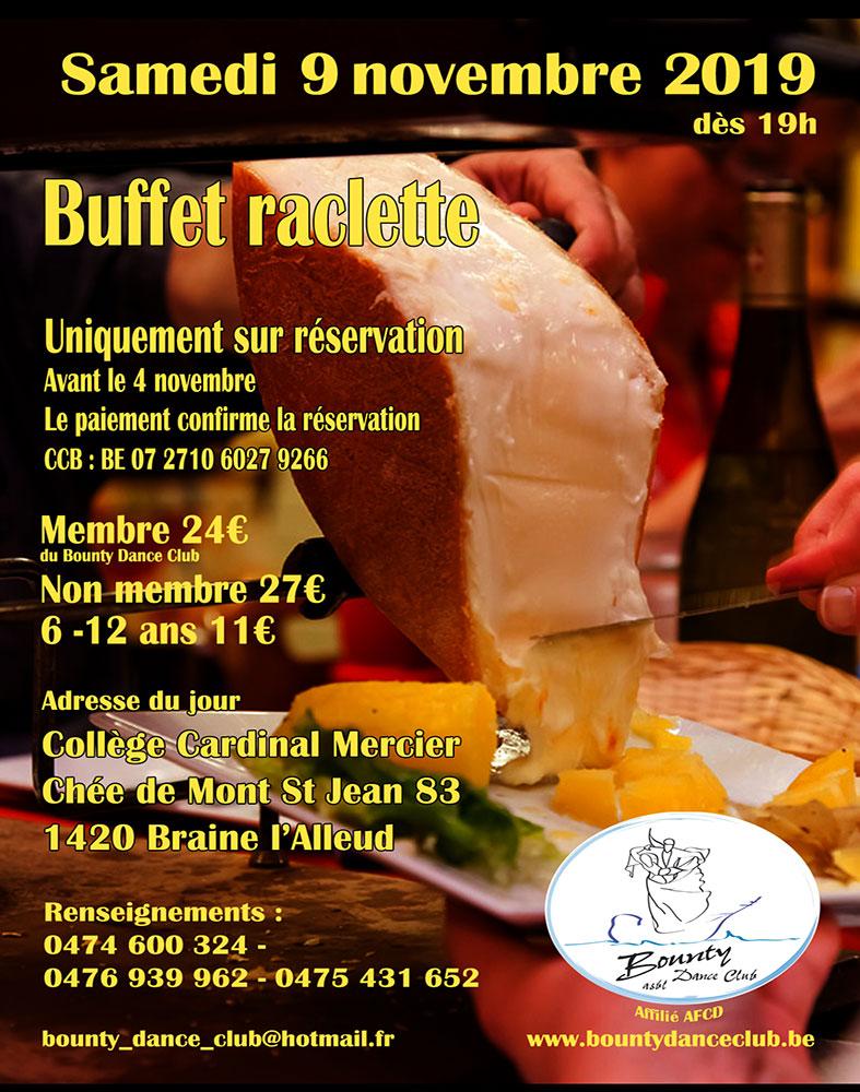 Repas Raclette Bounty DC
