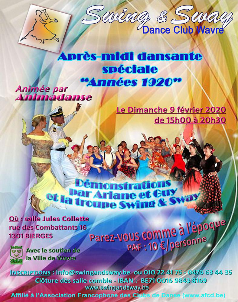 Thé Dansant Swing & Sway 09/02