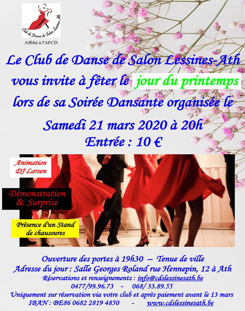 Soirée Ath Lessines 21/03
