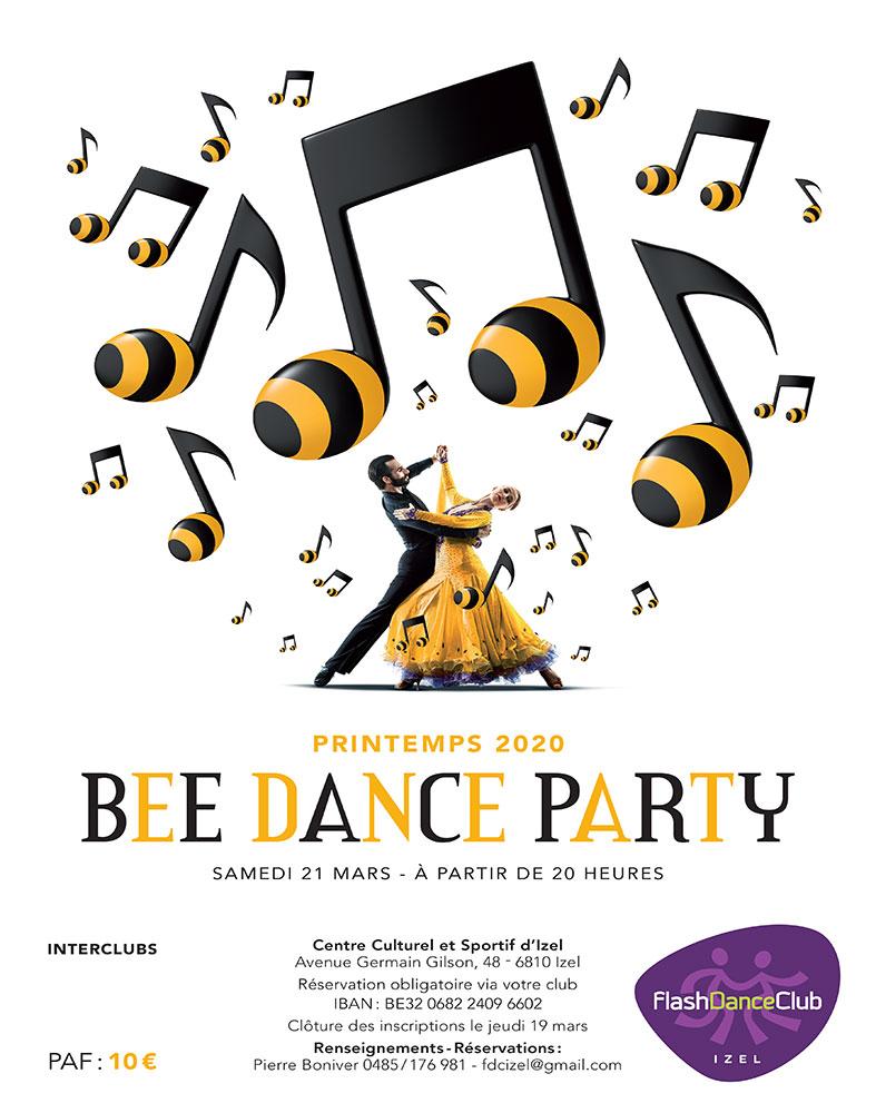 Bee Dance Party Izel 21/03