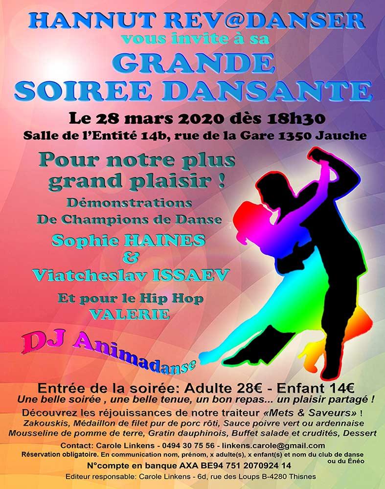 Soirée Rev@danser 28/03