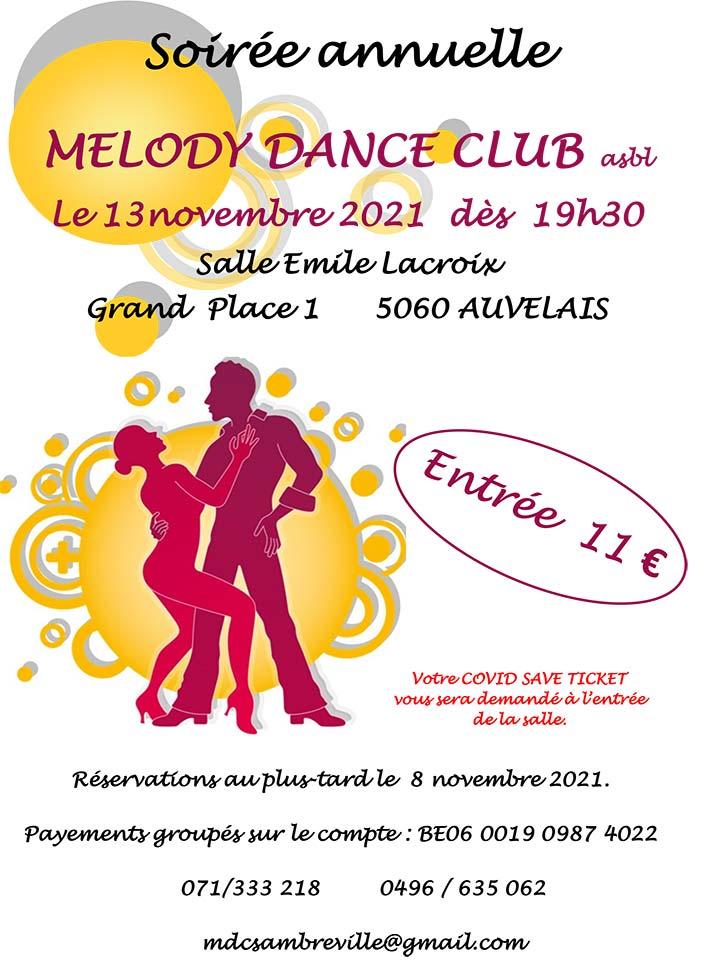 Soirée Melody Dance Club 13/11