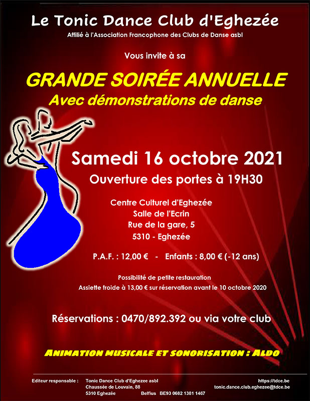 Soirée Tonic Dance Club