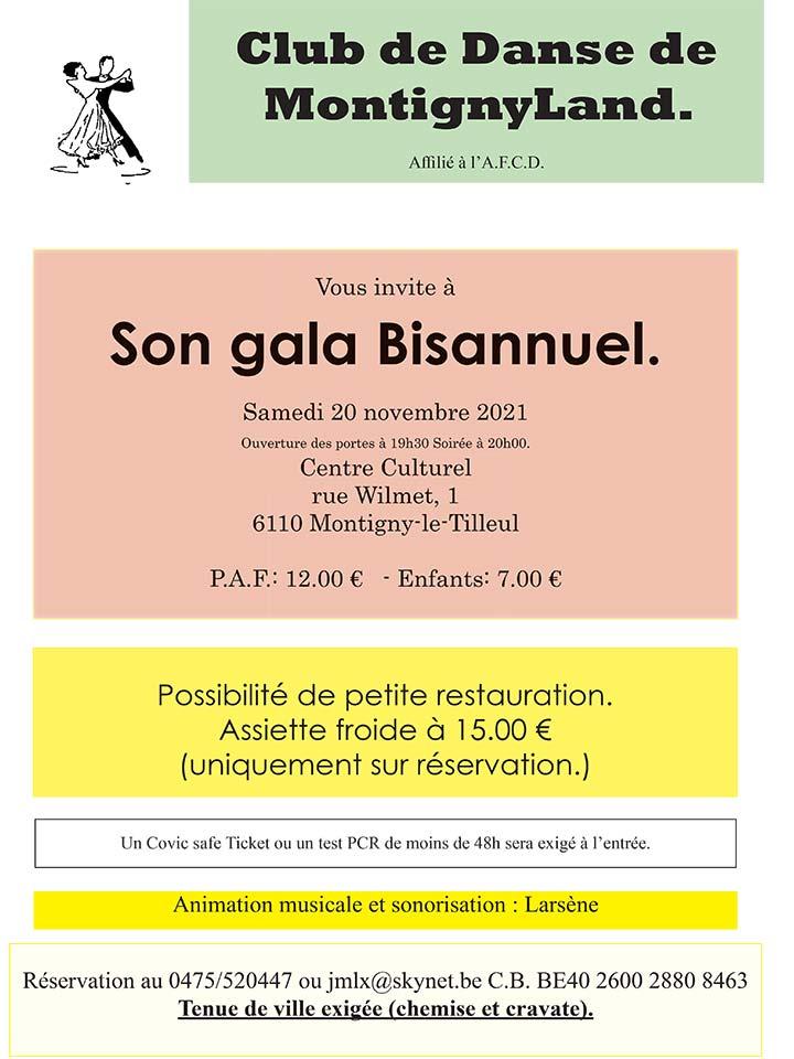 gala danse Montigny